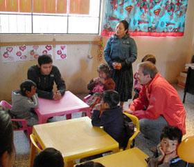 Besuch der Kinderzukunft in Monrovia, Guatemala
