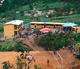 Guatemala neue Schule Charityprojekt