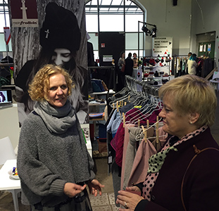 Politikerin Renate Künast besucht meinfrollein