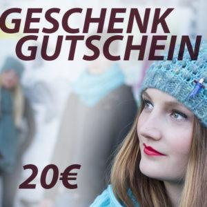 meinfrollein Geschenkgutschein 20 Euro