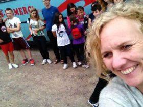 Stiftung Kinderzukunft Kinderdorf beim Ausflug