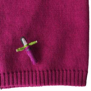 Bio Cotton Mütze für Veganer von meinfrollein