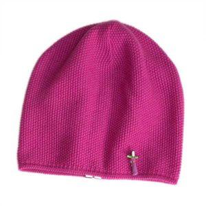 Damen Wintermütze, Merino Wolle, Pink von Meinfrollein