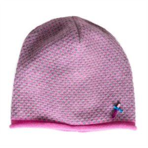 Meinfrollein Damen Kaschmirmütze in Pink