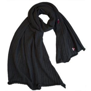 Schal Stola Winona , schwarz, Wolle
