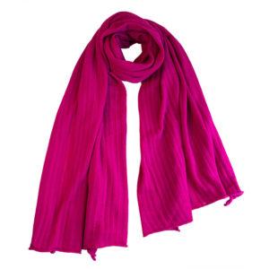 Stola Schal Winona, Pink Woclle