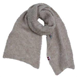 Kuschel Strickschal, organic wool, Beige