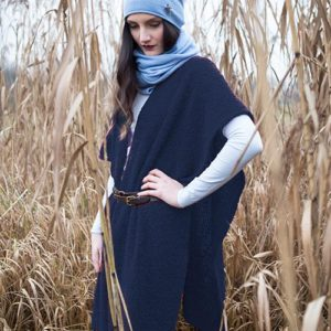 meinfrollein Poncho Cape Bette, Navy