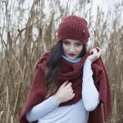 Mfrl-AW16-Bette Schal-Greta Rot