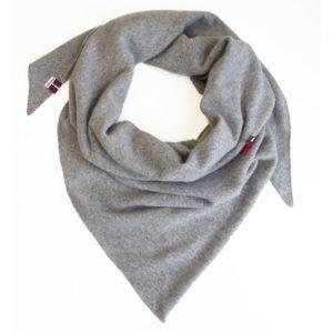 cashmere triangle scarf