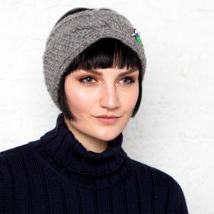 Bio Stirnband heidi von Meinfrollein, Grau