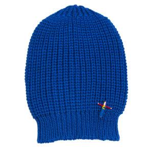 Unisex Mütze Peacy, Wolle, Royal