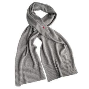 Luxus Schal, Alpakawolle, Grau
