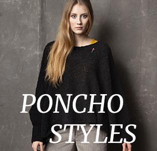 Poncho Schal und Capes von Meinfrollein