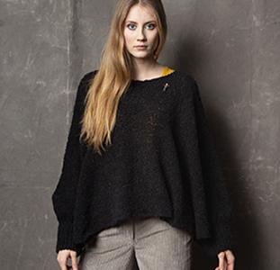 Poncho Styles, Cape Styles aus Wolle von Meinfrollein