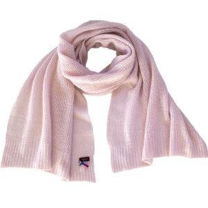 Meinfrollein Sommer Kaschmir Schal, 100% Kaschmir, Farbe Rosé Rosa