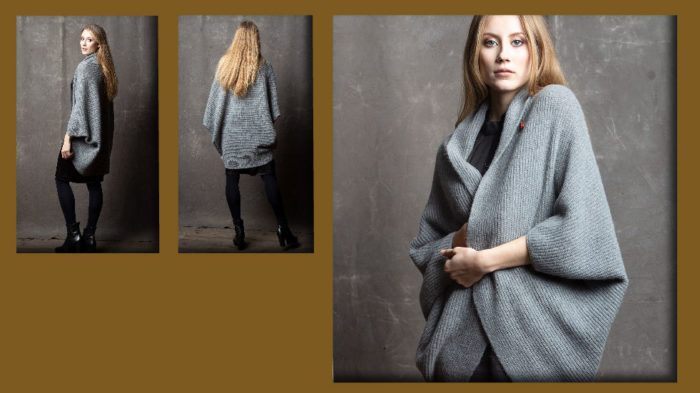 meinfrollein LOOKBOOK HW19-20, Strickjacke made in Germany