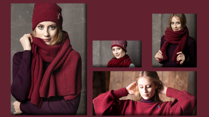 meinfrollein LOOKBOOK HW19-20, Strickmode aus Naturgarnen