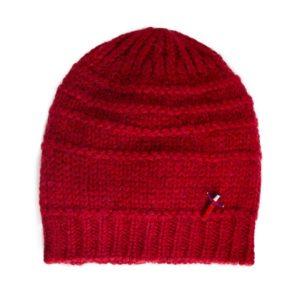 Damen Mütze aus Biowolle, Rot von Meinfrollein