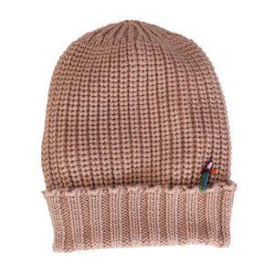Merino Mütze für Damen und Herren von Meinfrollein, Nude Hautfarben