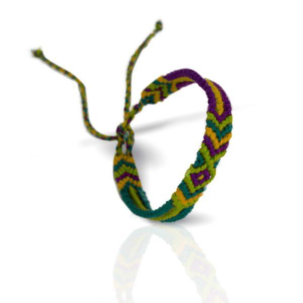 Fairtrade Armband mit Geschenkkarte von Meinfrollein
