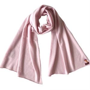 Kaschmirschal aus 100% Cashmere von Meinfrollein, Rosé rosa