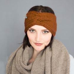 Bio Stirnband Heidi, Hande-made von Meinfrollein
